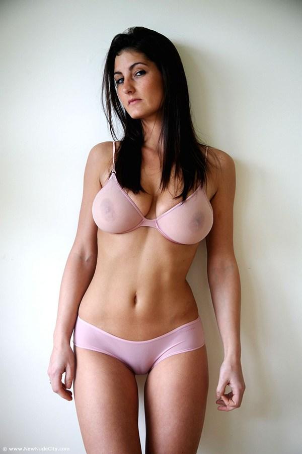 Emma Twigg in underwear