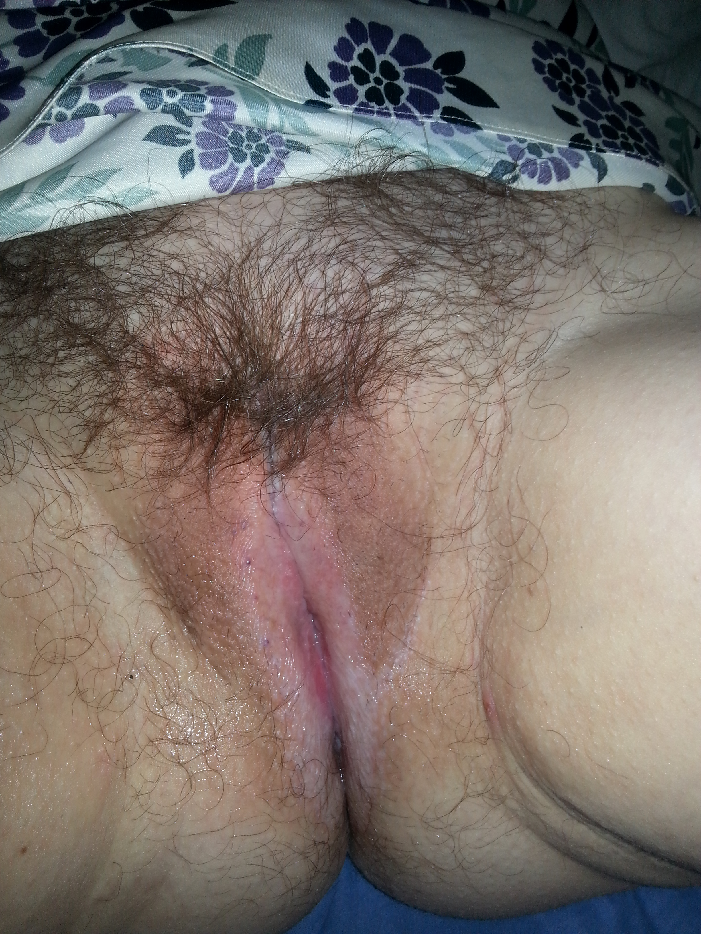 Kate and her Hairy Pussy