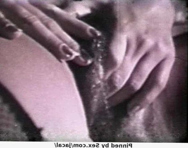 Vintage hairy pussy masturbation and female ejaculation