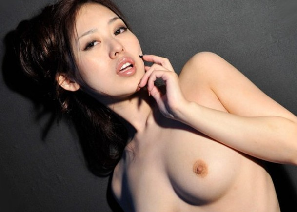 Big Tits Gorgeous Model Ann Yabuki Fucked and Creampied by 2 Men!! (HD)