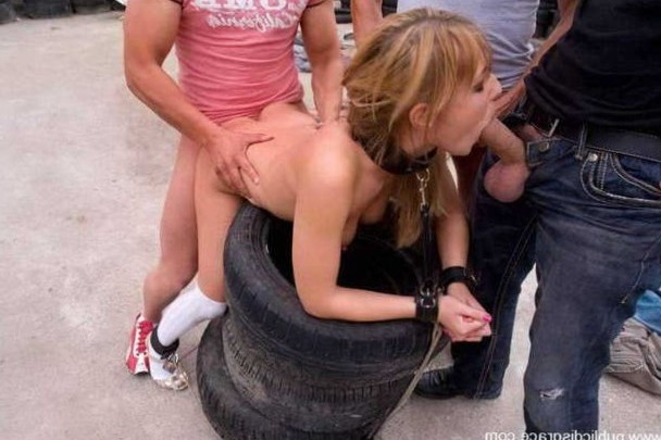 tied to tires