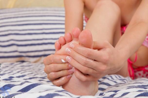 Foot rub.
